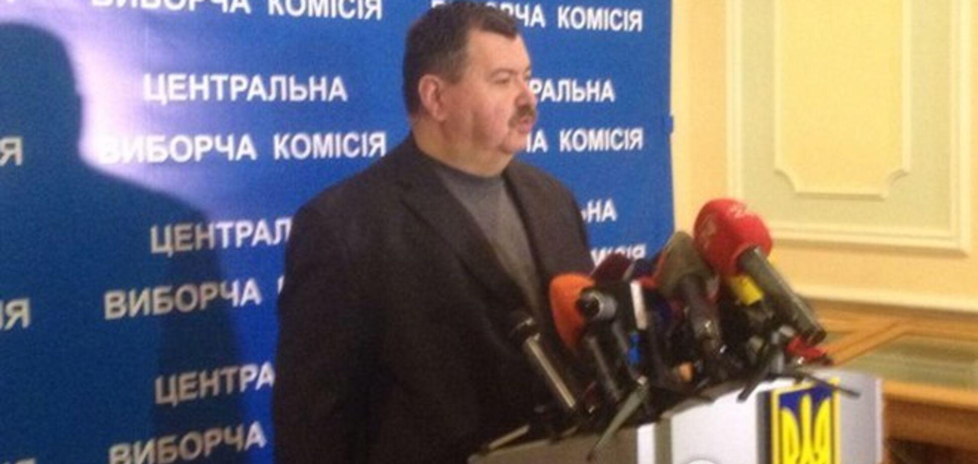 ЦИК пообещала сверить 'свободовский' подсчет результатов выборов и официальные данные