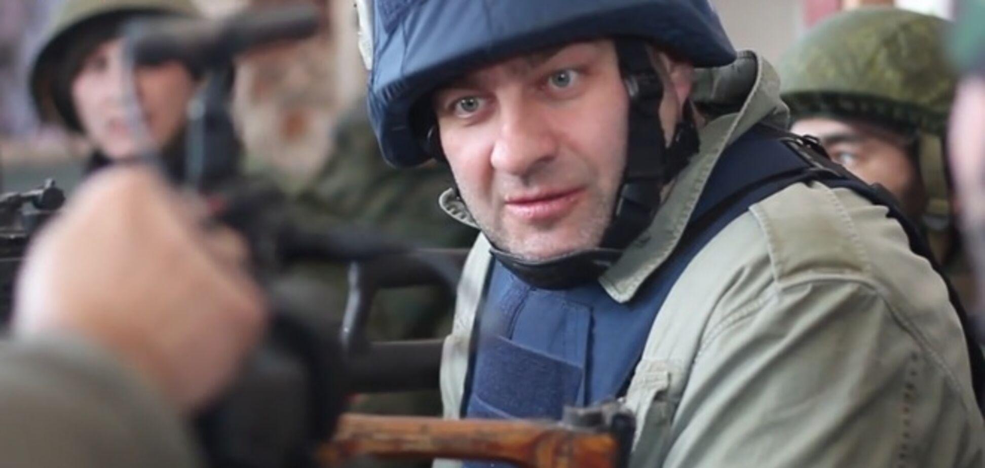 Актер Пореченков стрелял по 'киборгам' в донецком аэропорту: опубликовано видео