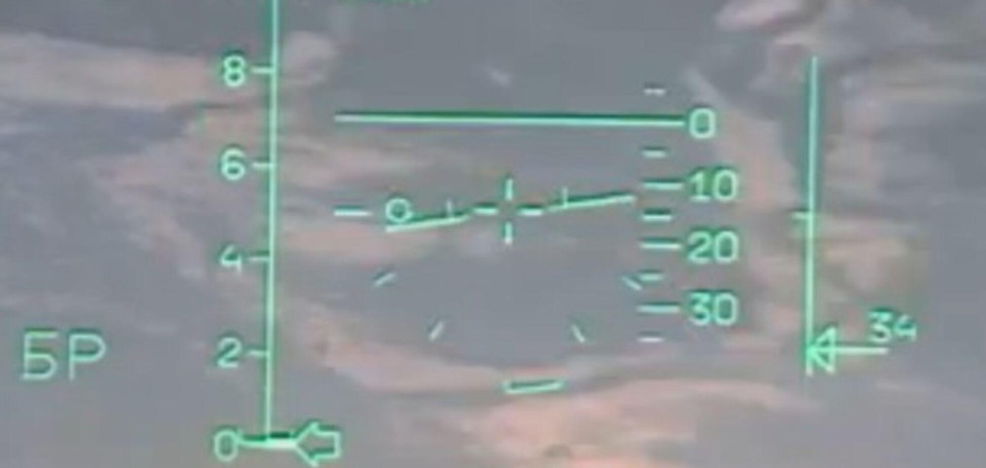 В інтернеті з'явилося відео з кабіни пілота падаючого винищувача