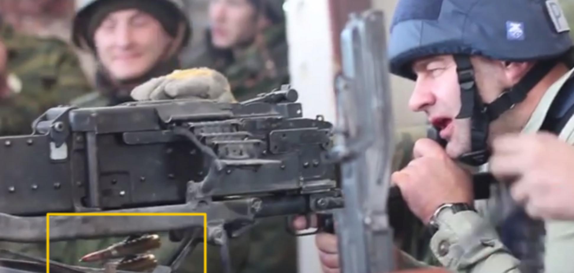 Военные эксперты доказали, что Пореченков стрелял в украинцев боевыми патронами