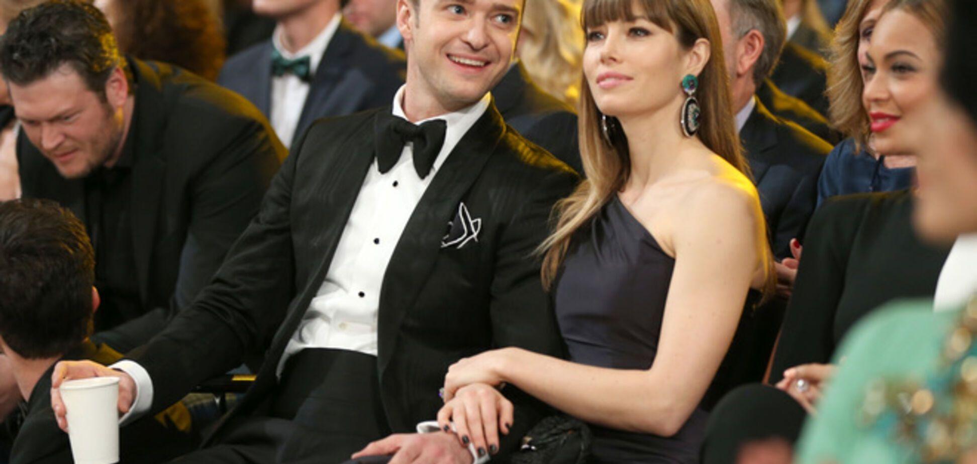 Джастин Тимберлейк и Джессика Бил ждут первенца