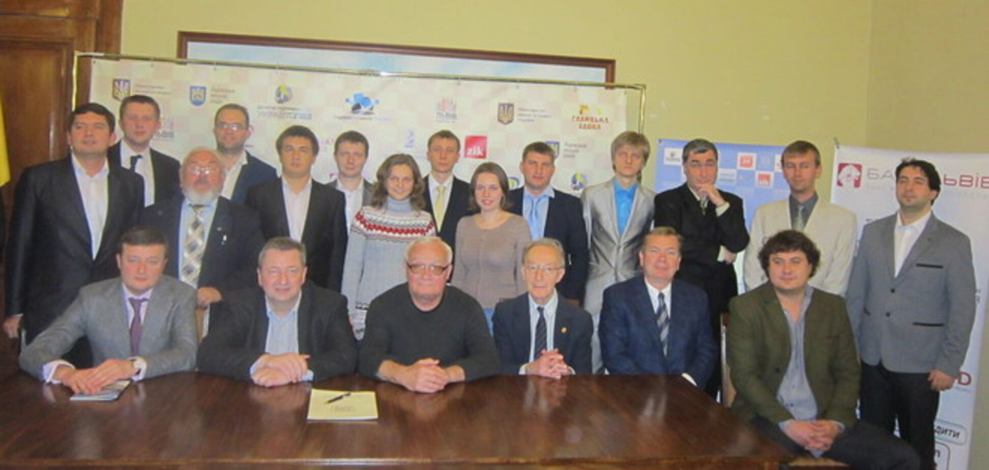 Во Львове стартует звездный чемпионат Украины по шахматам