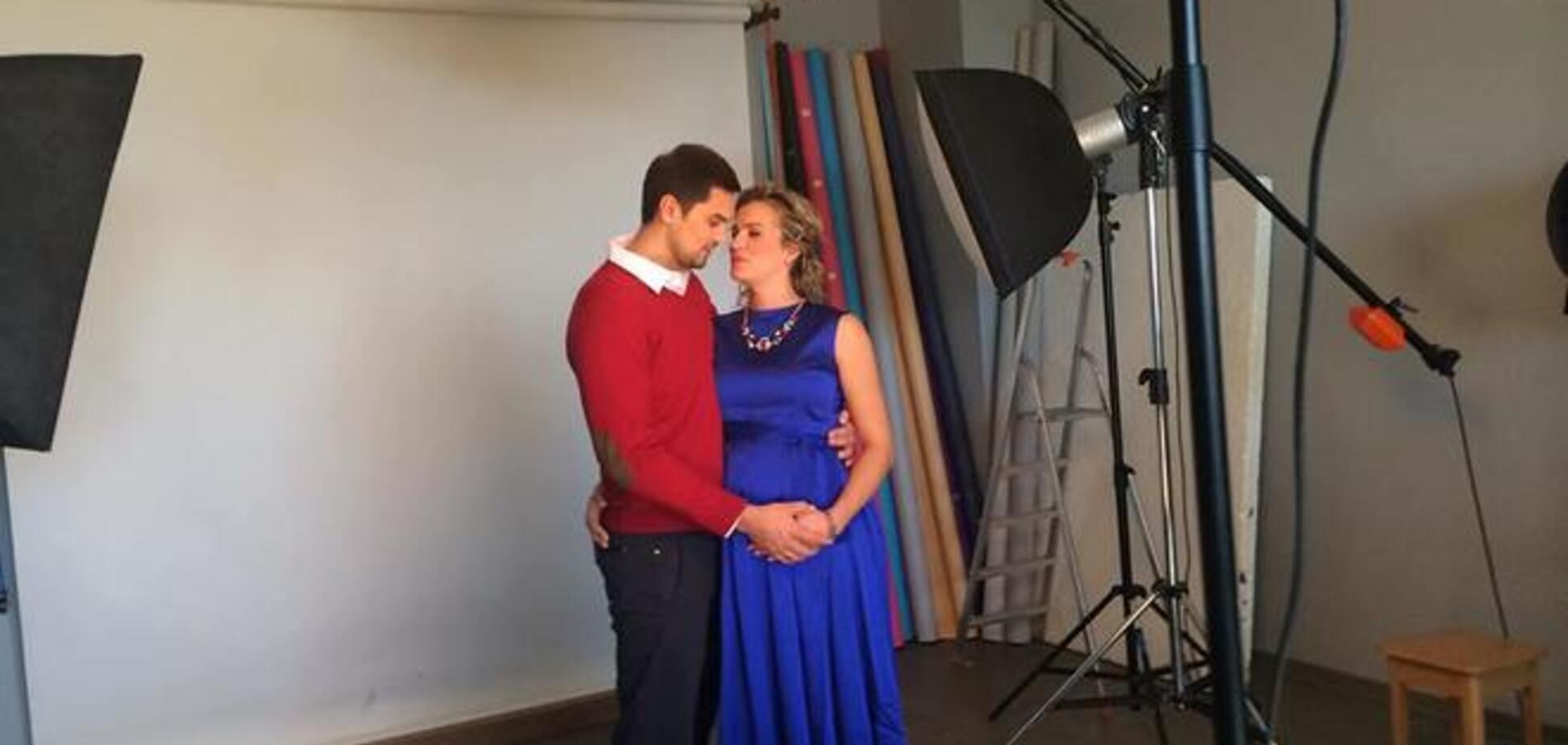 Олимпийская чемпионка Украины снялась в романтической фотосессии