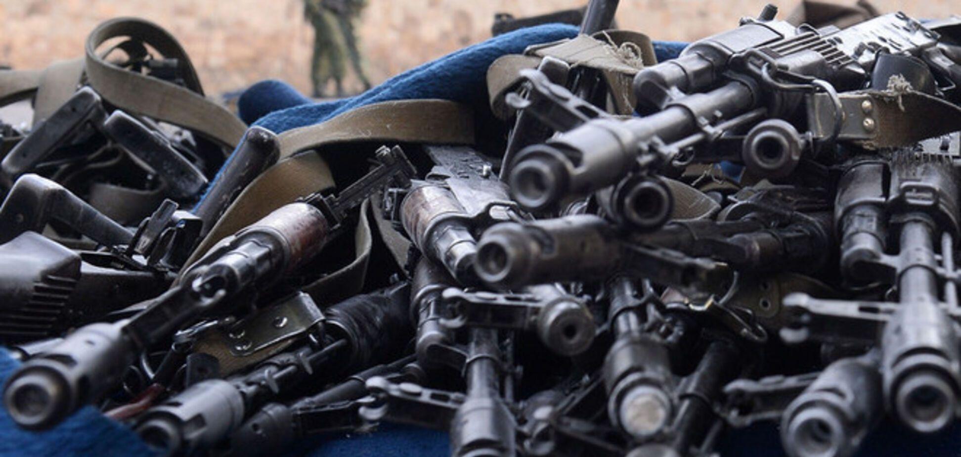 Бойцов волынского батальона 'Свитязь' подозревают в загадочной потере арсенала оружия