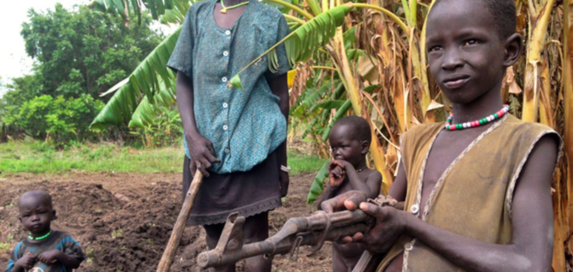 Страна в Африке, у населения которой ничего нет