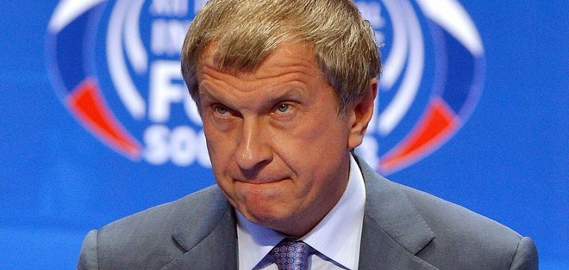 Новоизбранный депутат Береза ждет, когда президент 'Роснефти' укусит себя за зад