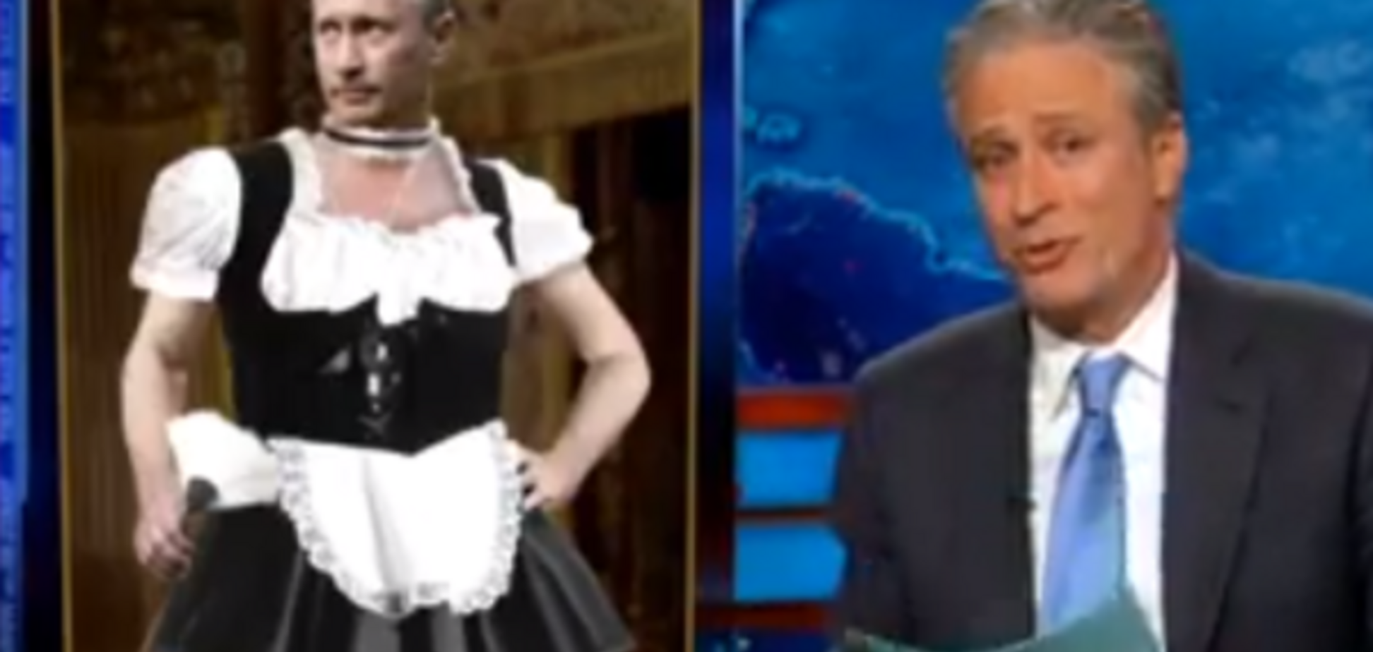 Американское шоу показало Путина в костюме француженки и высмеяло 'аннексию' первой леди Китая
