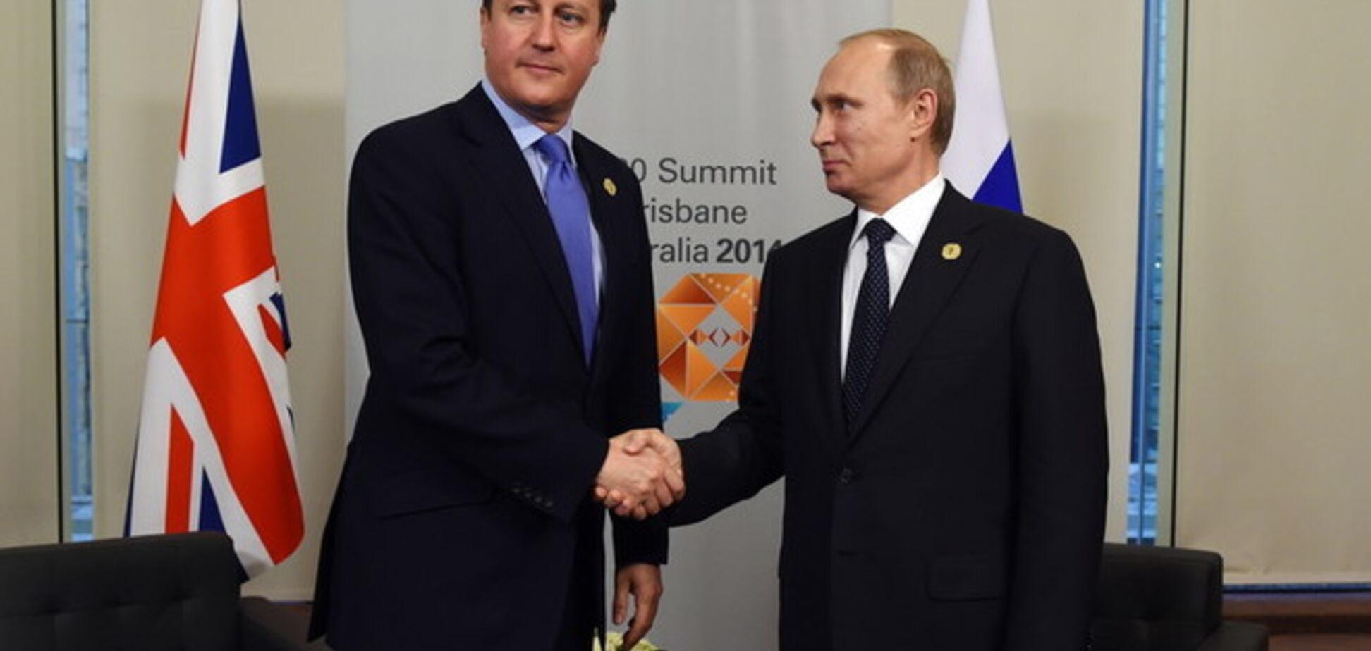 Кэмерон предупредил Россию о новых санкциях из-за Украины