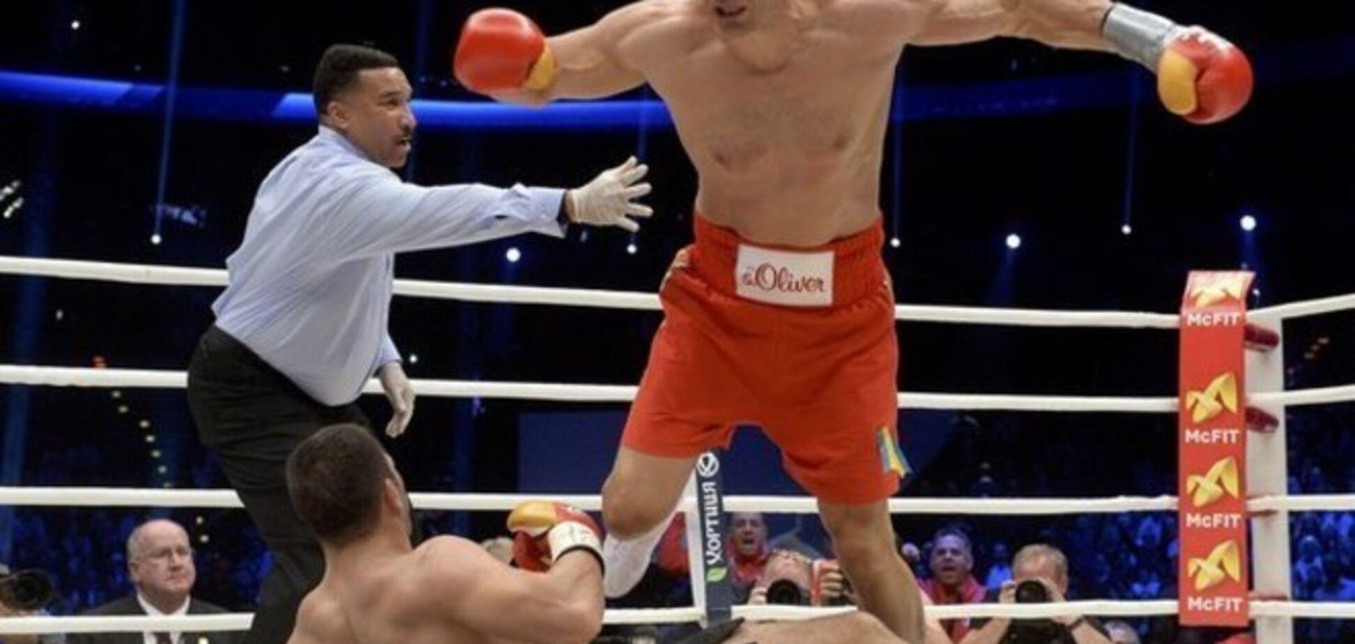 Владимир Кличко жестоко избил непобедимого Пулева: видео нокаута