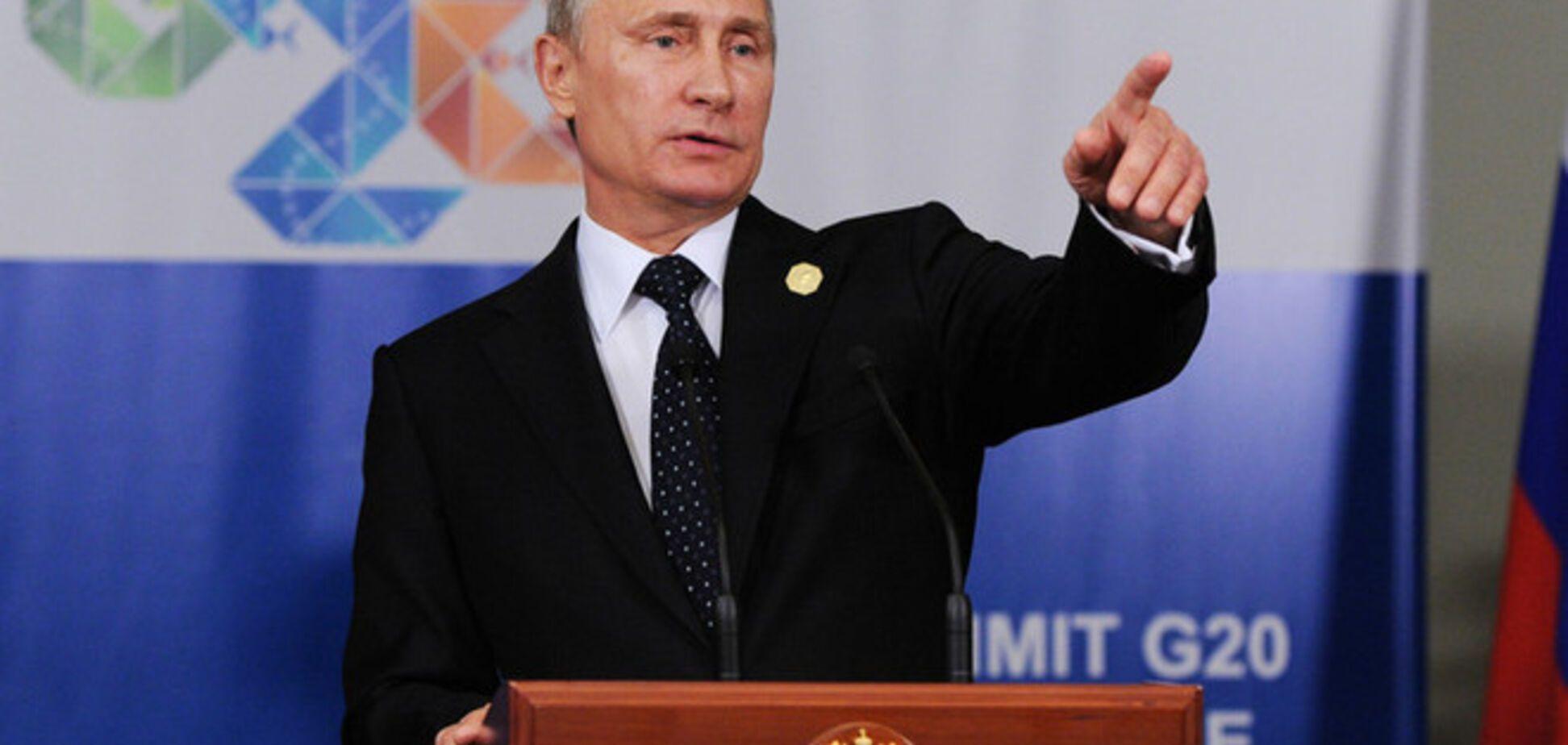 Путин сравнил Донбасс с Чечней