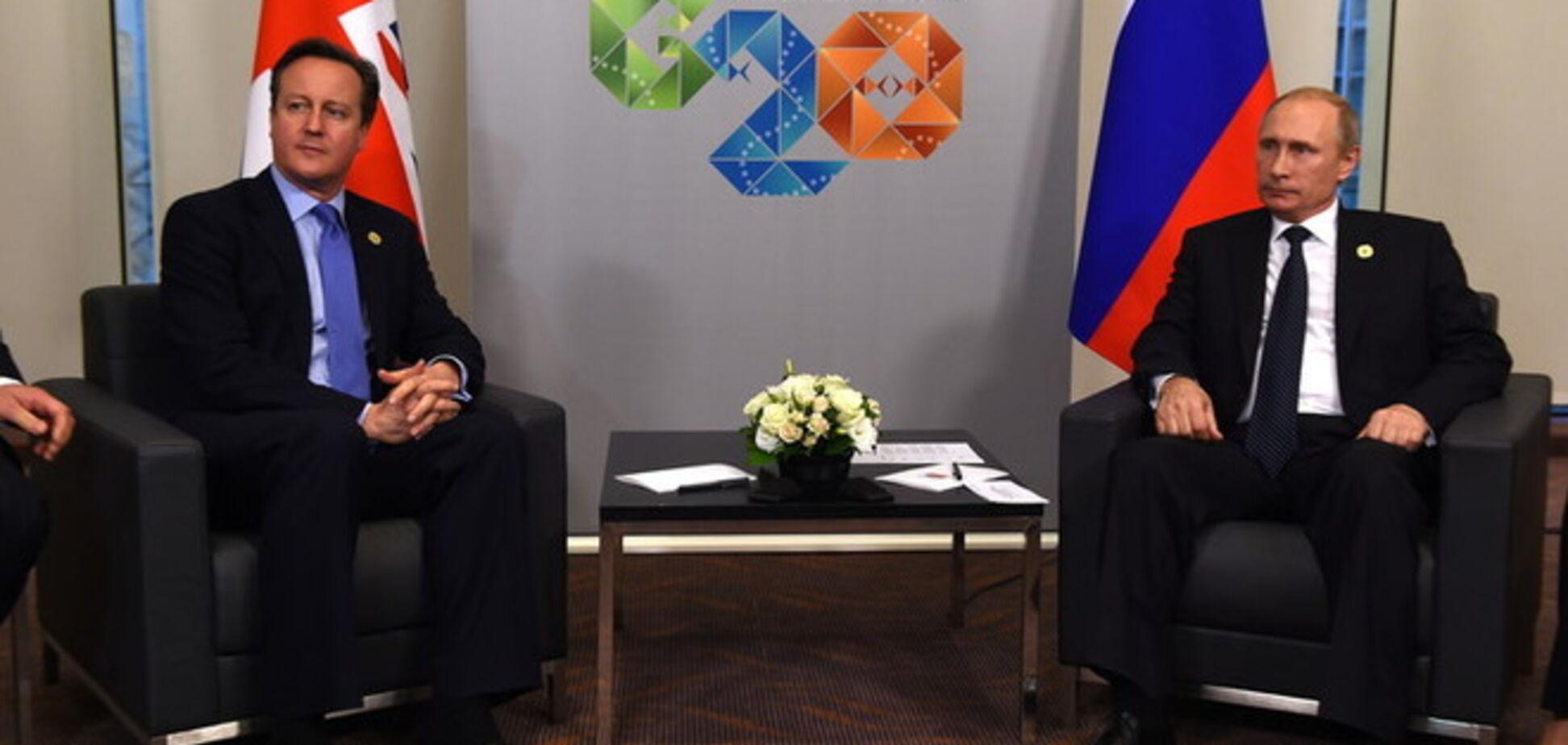Путин находится на распутье в вопросе Украины - Кэмерон
