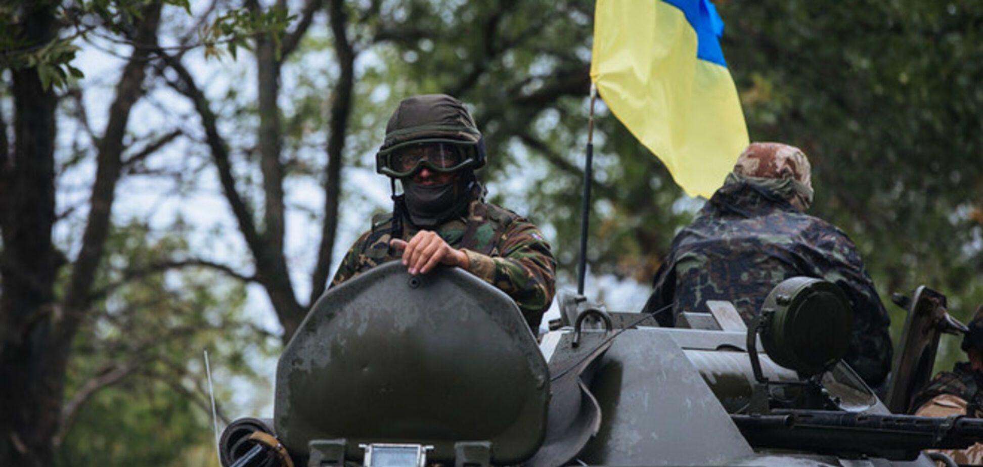 Пятеро украинских воинов погибли в зоне АТО в понедельник