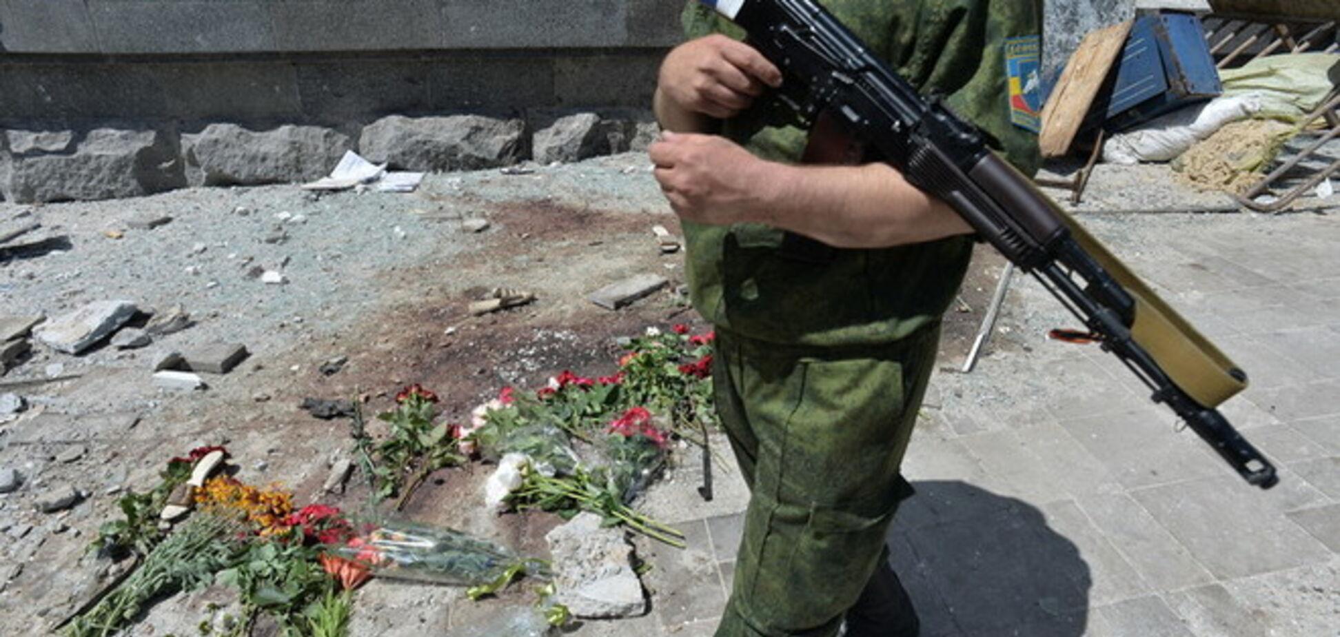 'Бабий бунт': разъяренные луганские женщины пошли против казаков-террористов