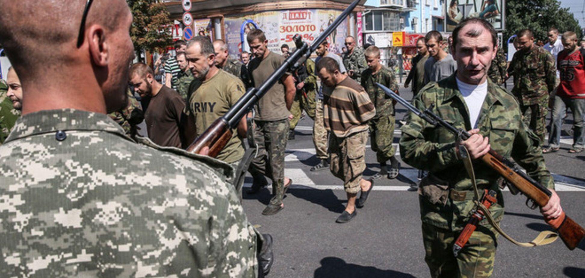 Из плена террористов в Донецке освобождено 17 украинских военных