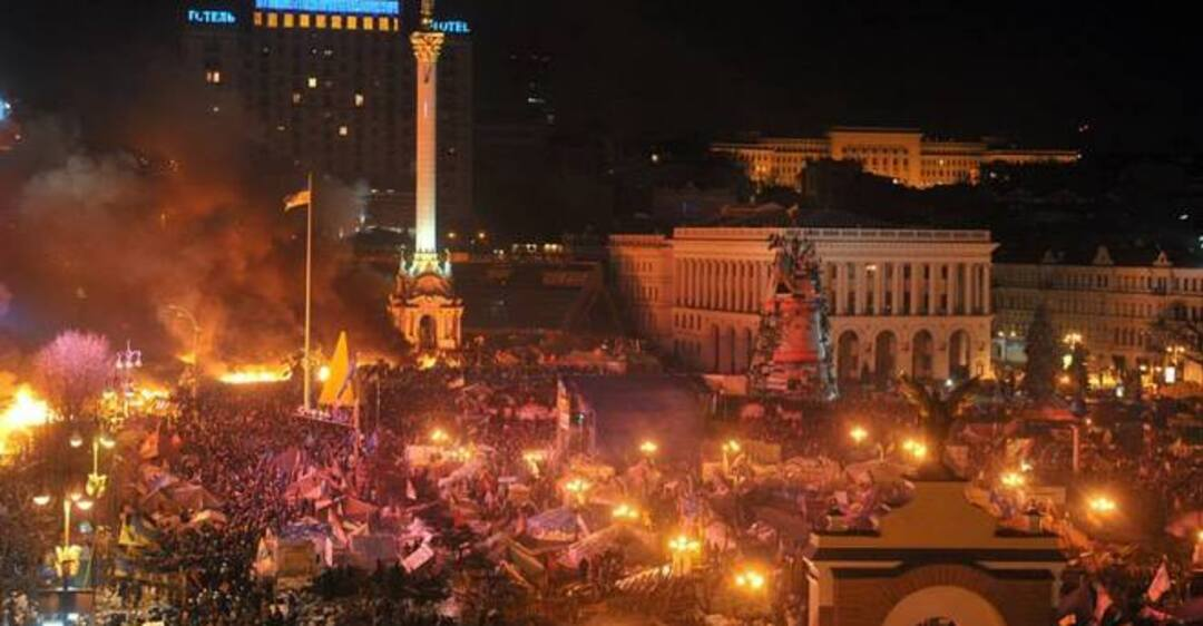 киевский майдан картинки характеризует суровый