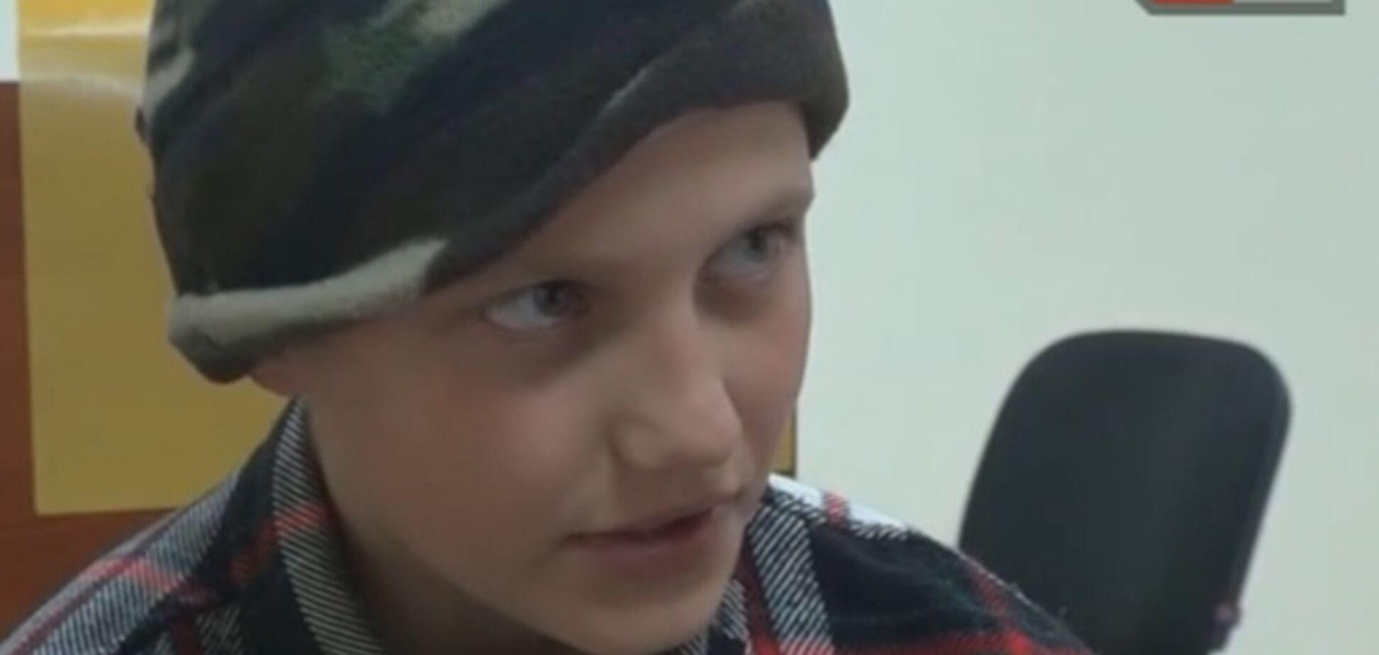 Новая сказка российских СМИ: 'каратели' накололи ребенка наркотиками и сделали мишенью для ракет