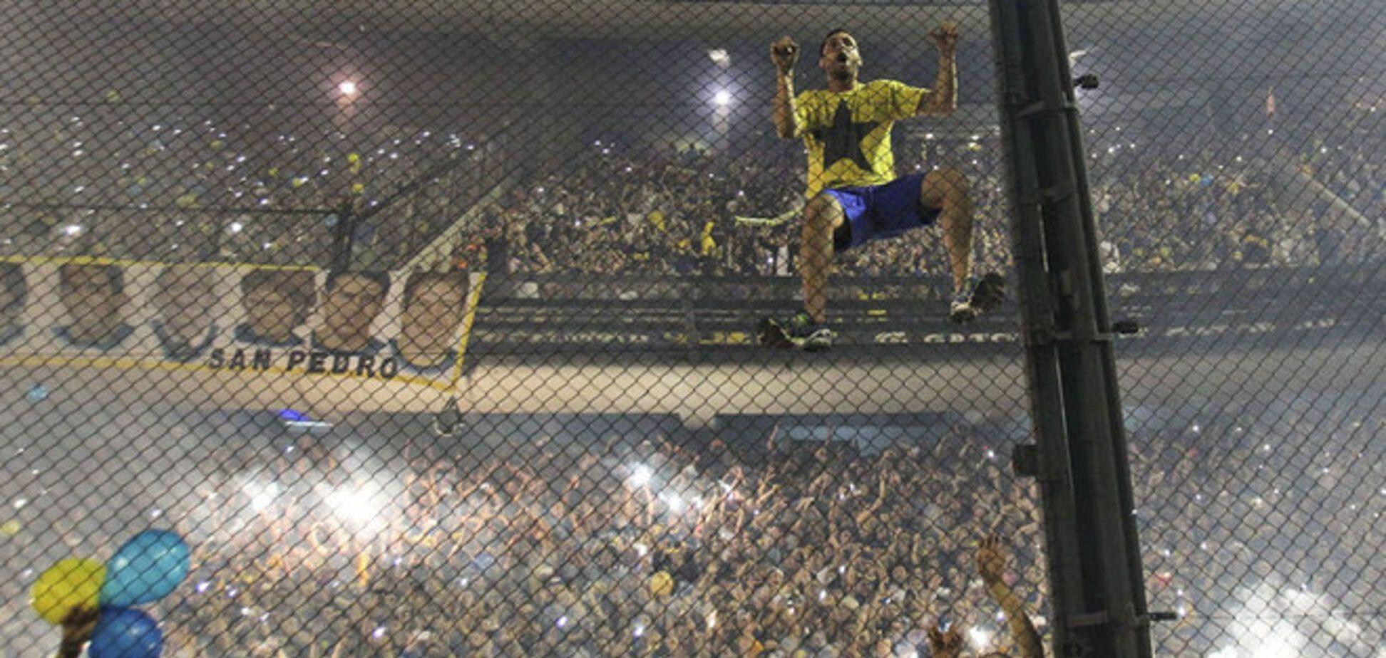 Аргентинские фанаты устроили грандиозное шоу: невероятное видео