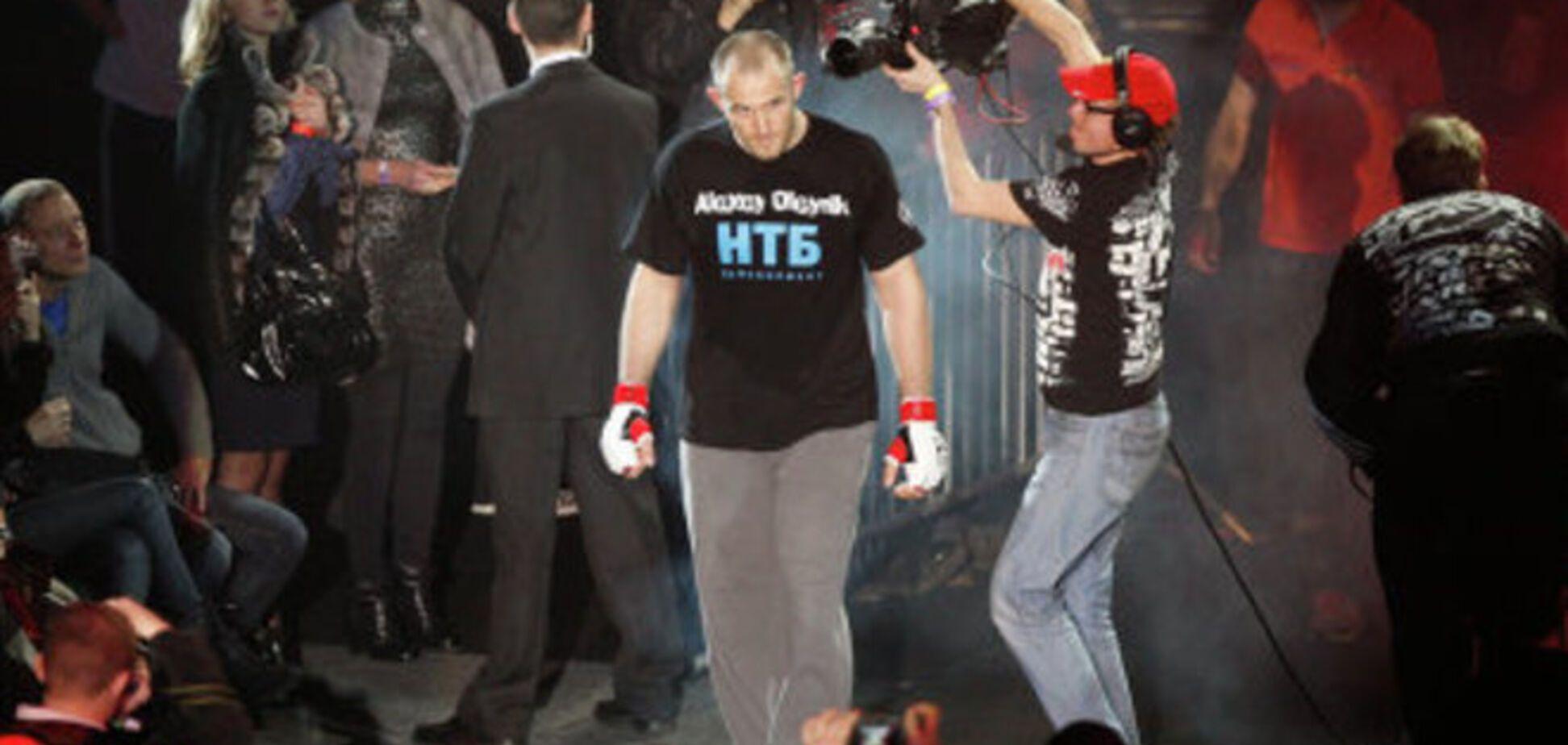 Украинский боксер надел майку с Путиным на взвешивание перед боем