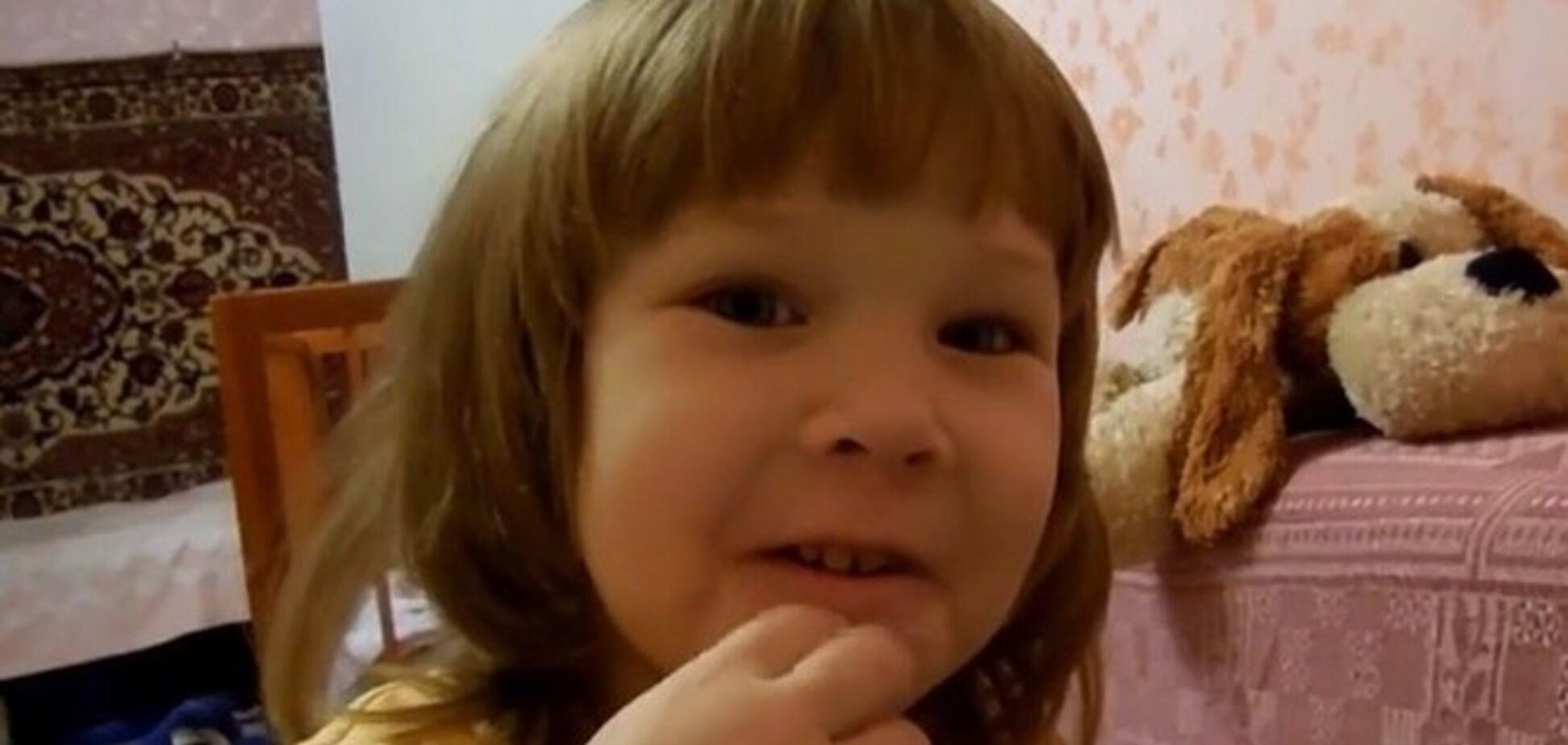 Трехлетняя девочка пригрозила мэру из-за гололеда: тебя надо 'в угол поставить и пошлепать'