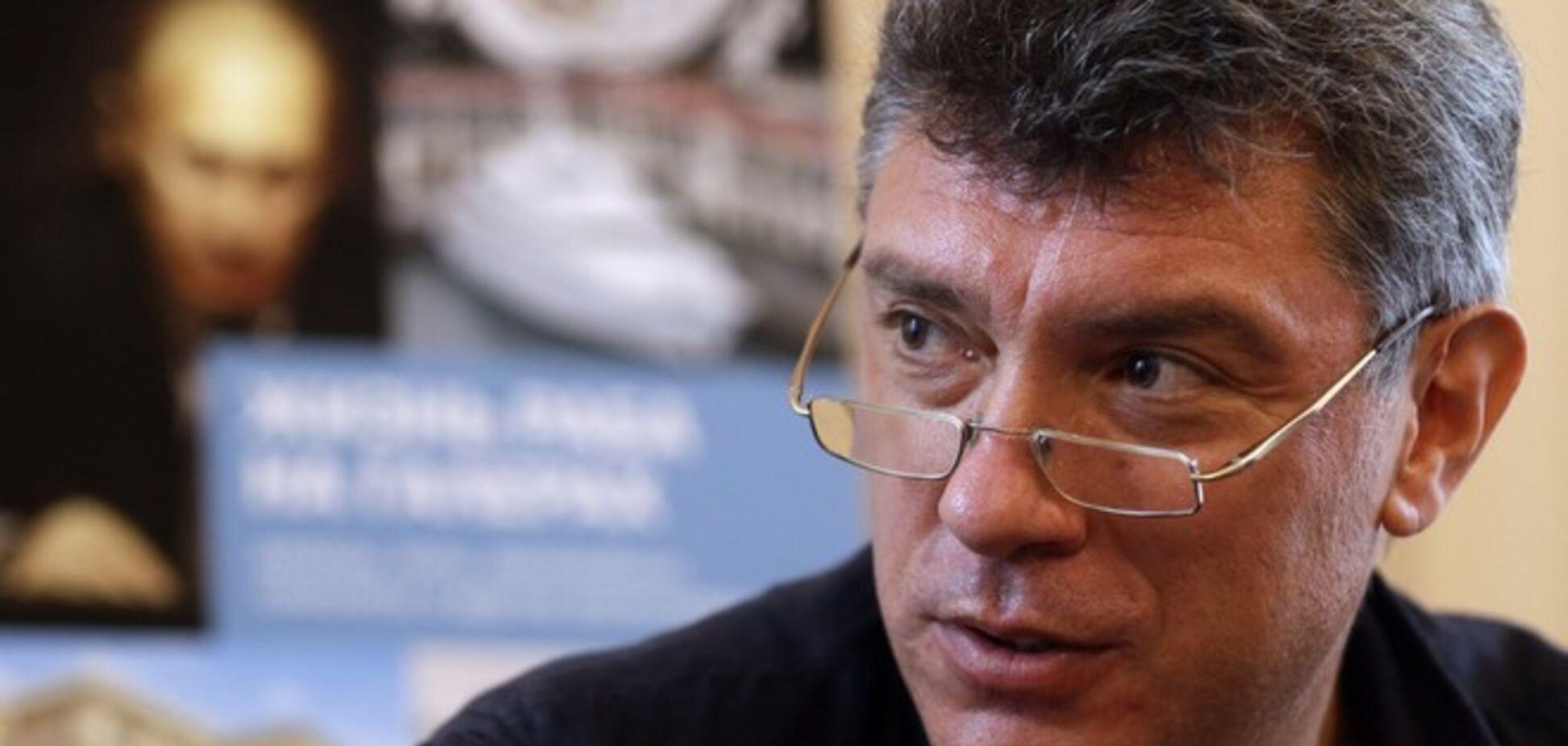 Немцов рассказал о планах 'неадекватного' Путина в отношении Украины