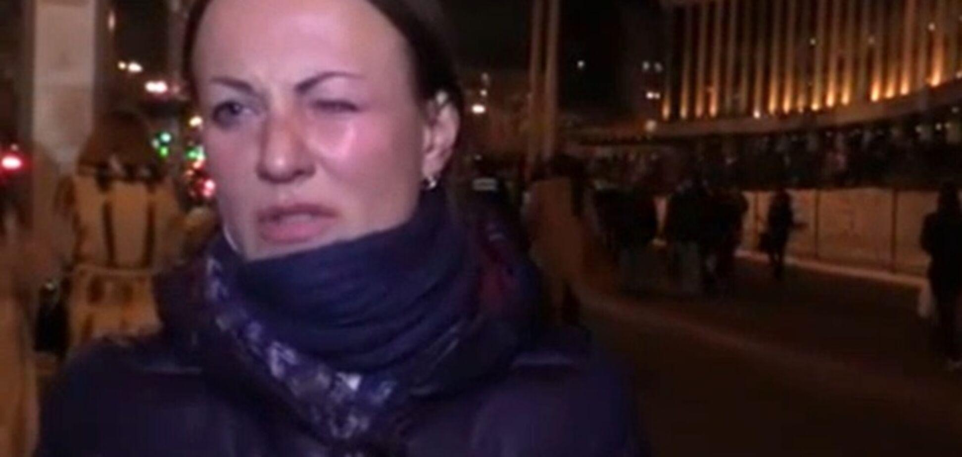 Милиция проверяет информацию об избиении журналистки LifeNews в Киеве