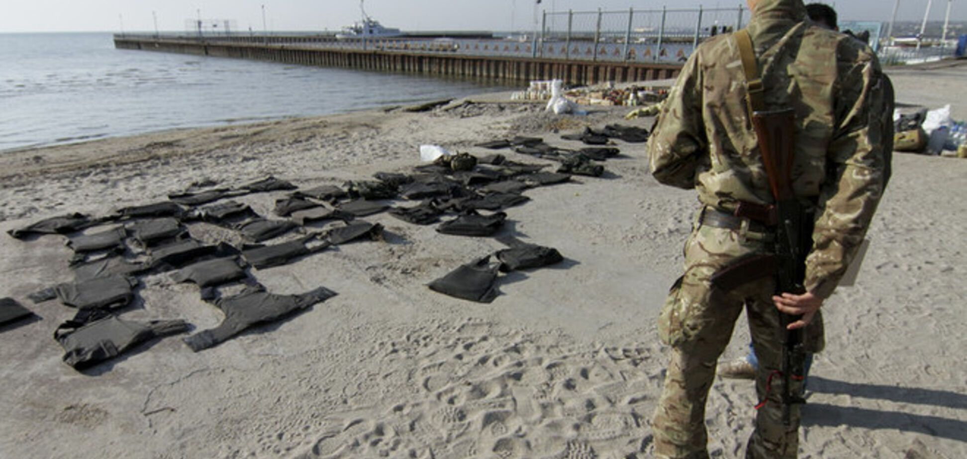 Під Маріуполем іноземні фахівці тренують елітну частину спецназівців