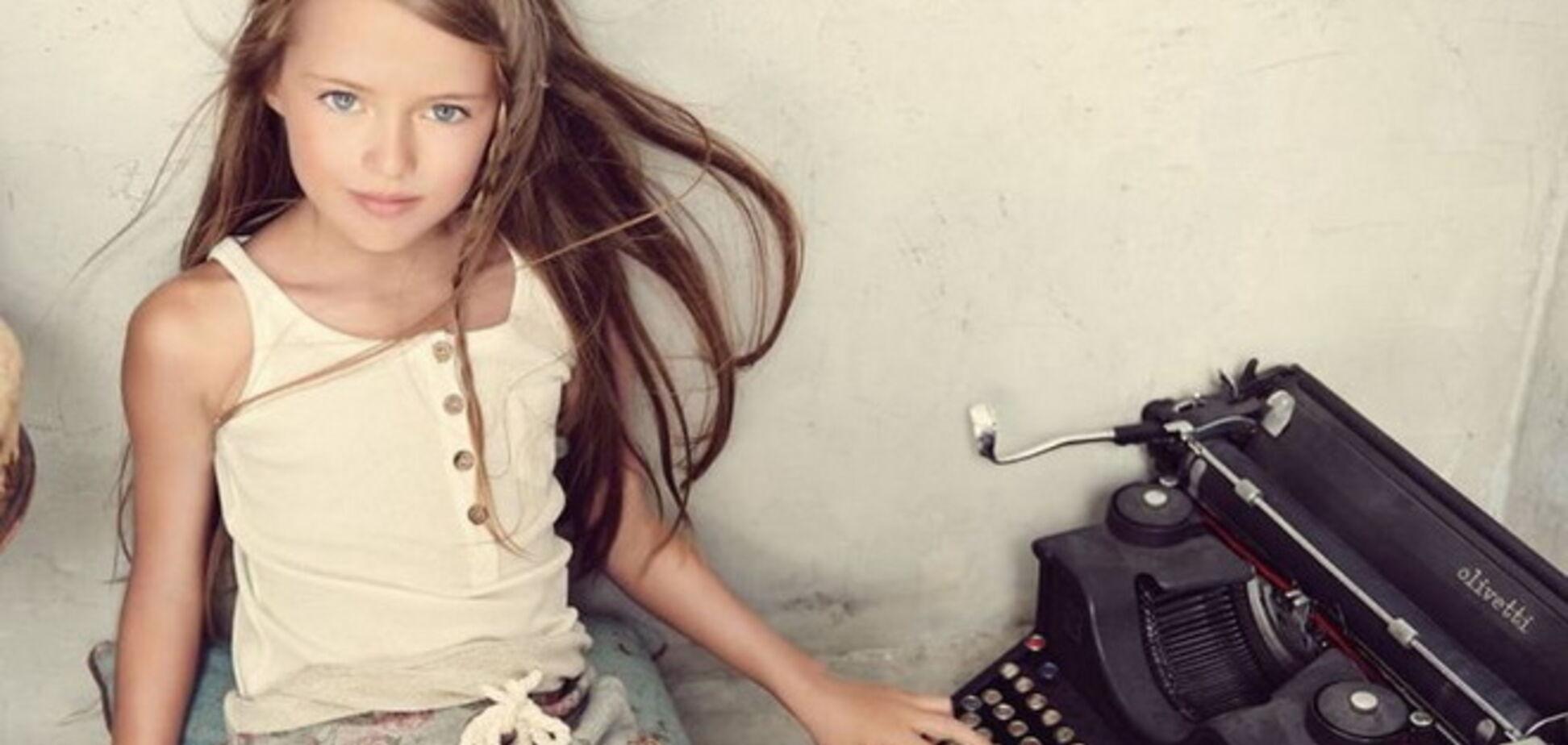 9-летняя дочь российского футболиста признана самой красивой девочкой в мире