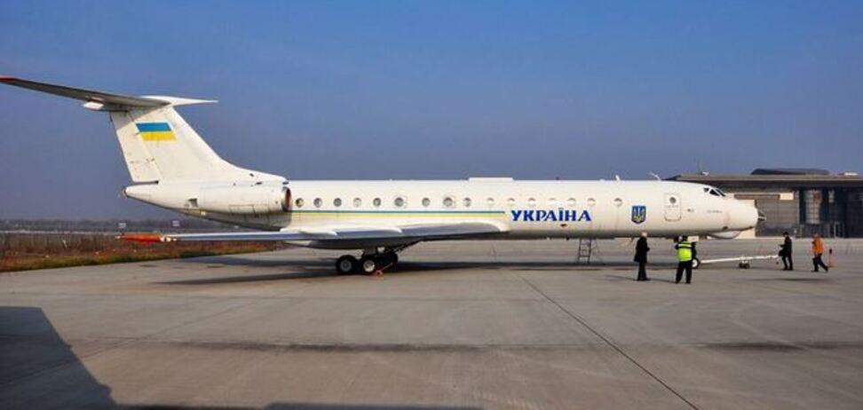 Самолет, которым пользовалось руководство Украины, поставят в музей