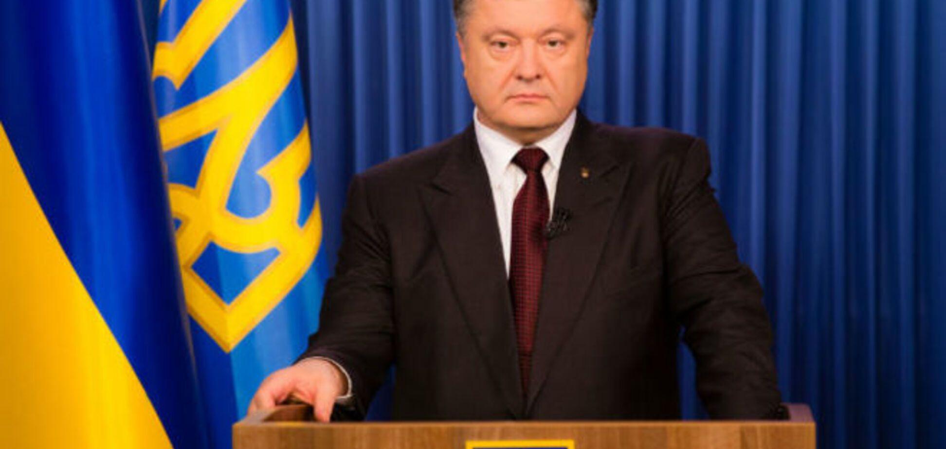 Порошенко о псевдовыборах на Донбассе:  фарс под дулами танков и автоматов