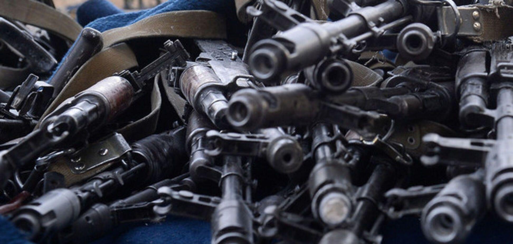 Милицейский спецбат 'Ивано-Франковск' в боях потерял 70 единиц оружия