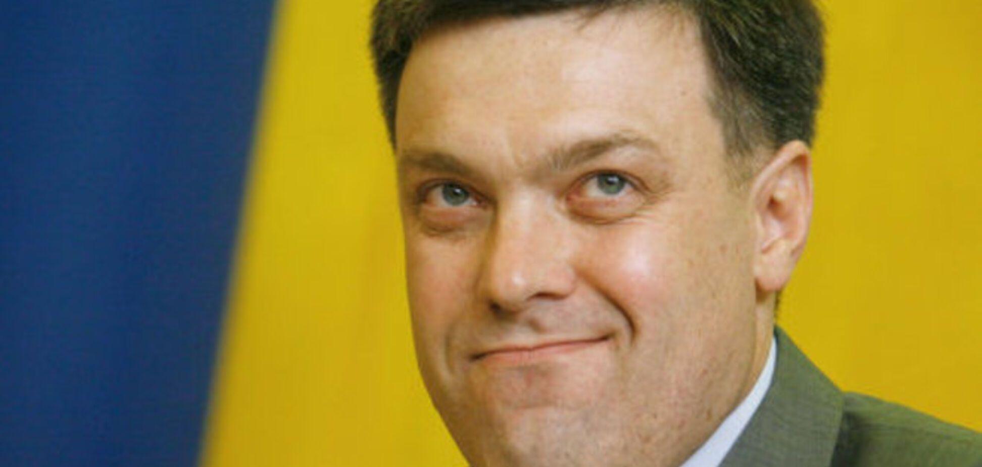 ТОП-10 самых забавных фото именинника Олега Тягнибока