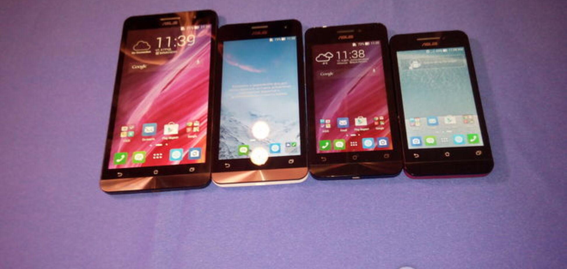 ASUS представила в Украине смартфоны на любой вкус и планшет-трансформер