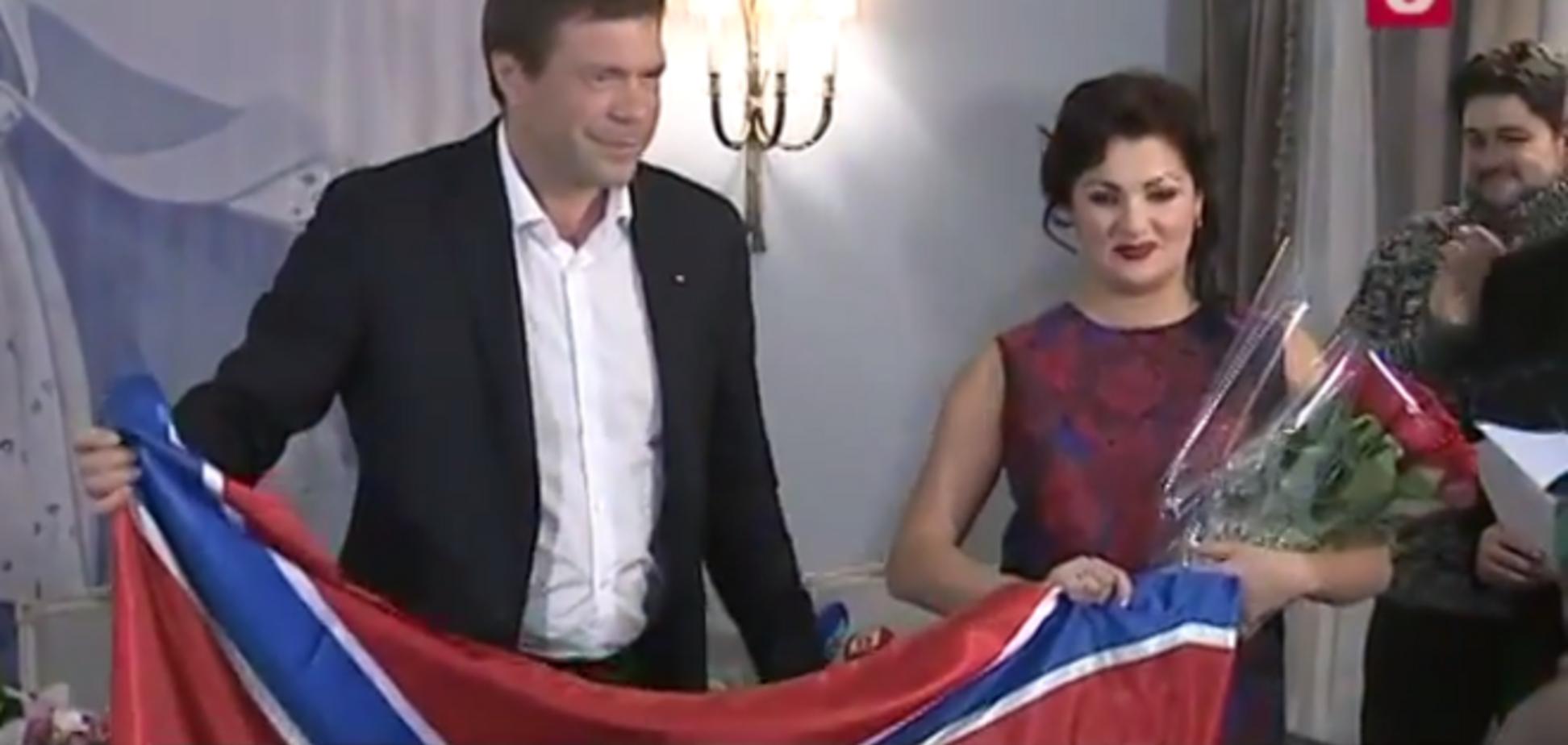 Нетребко знала, що їй вручать прапор 'Новоросії' - Царьов