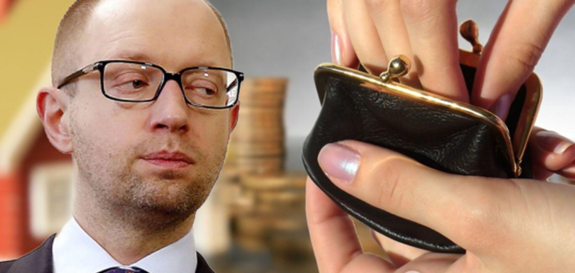 Повышение тарифов от Яценюка: сколько украинцы заплатят за газ и свет