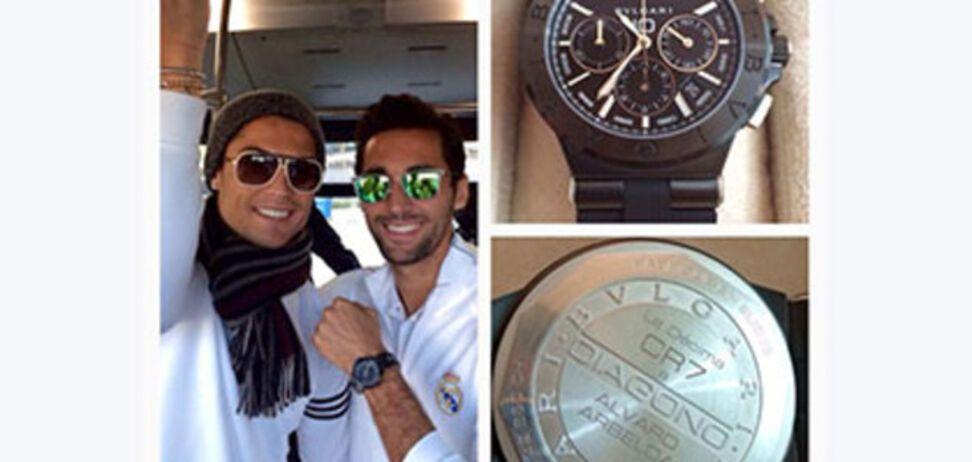 Криштиану Роналду подарил одноклубникам часы на 150 тыс. евро