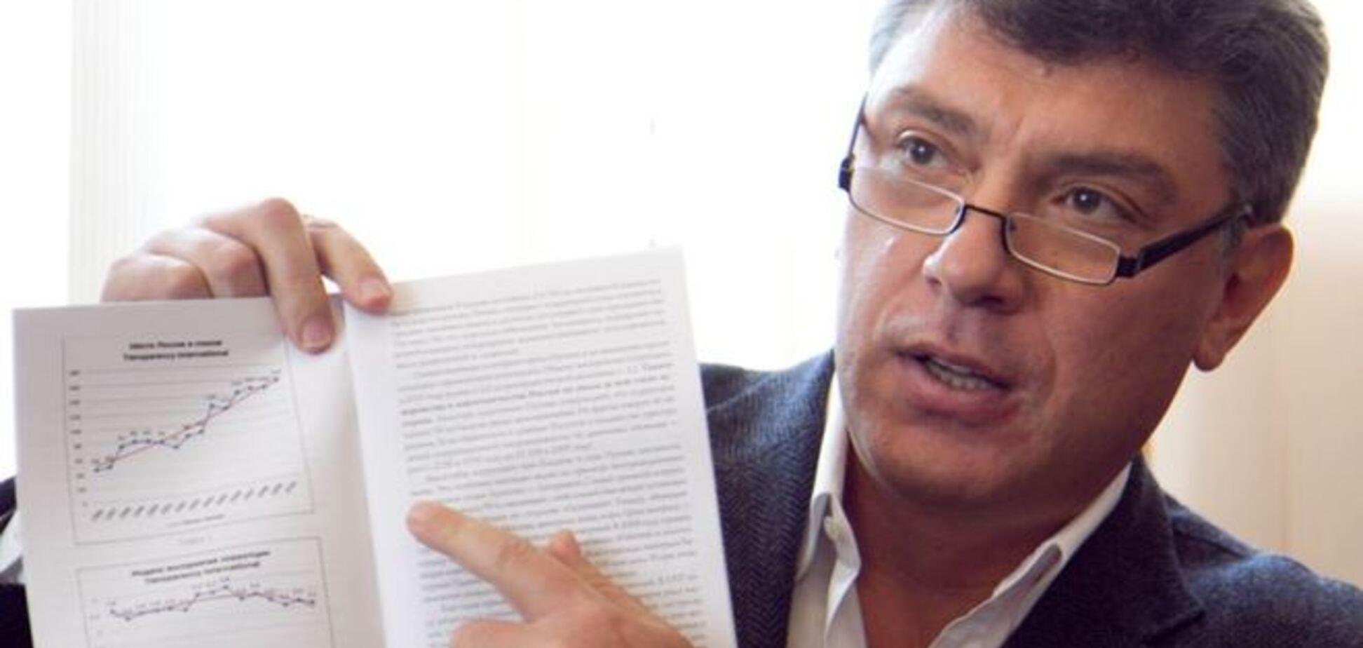 Немцов рассказал, почему рубль будет слабеть и дальше