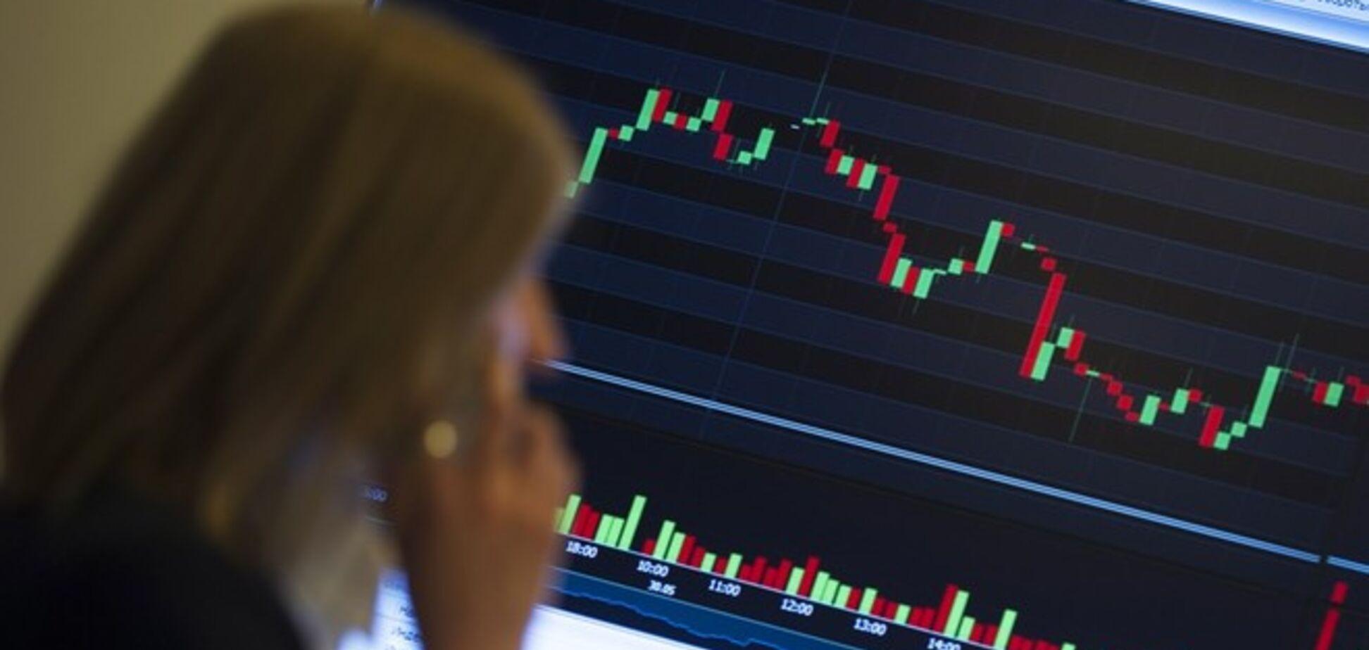 Котировки российских компаний мгновенно рухнули из-за рекордного обвала рубля