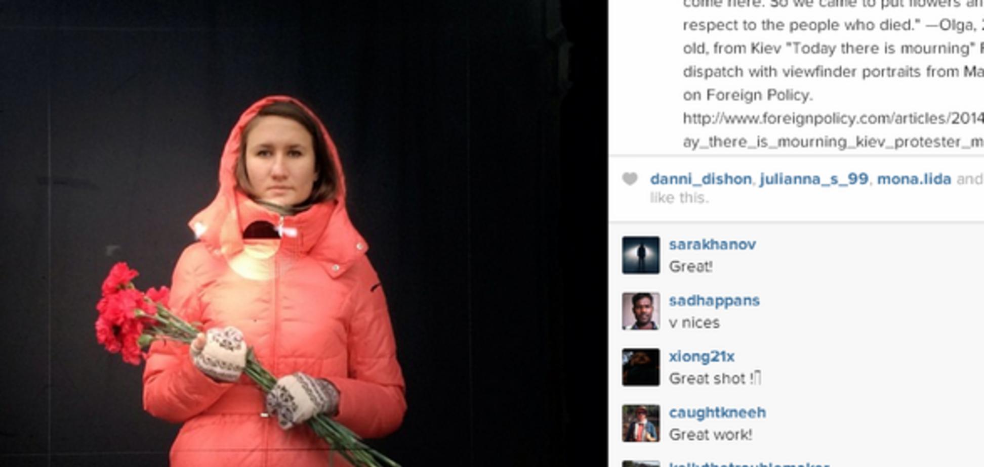 Журнал TIME выбрал инстаграм-фото памяти погибших в Киеве лучшим снимком года