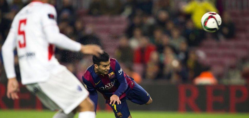 'Барселона' забила 8 мячей в Кубке Короля: видео голов