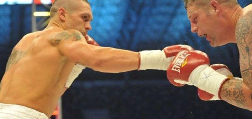Усик вошел в топ-4 рейтинга WBO