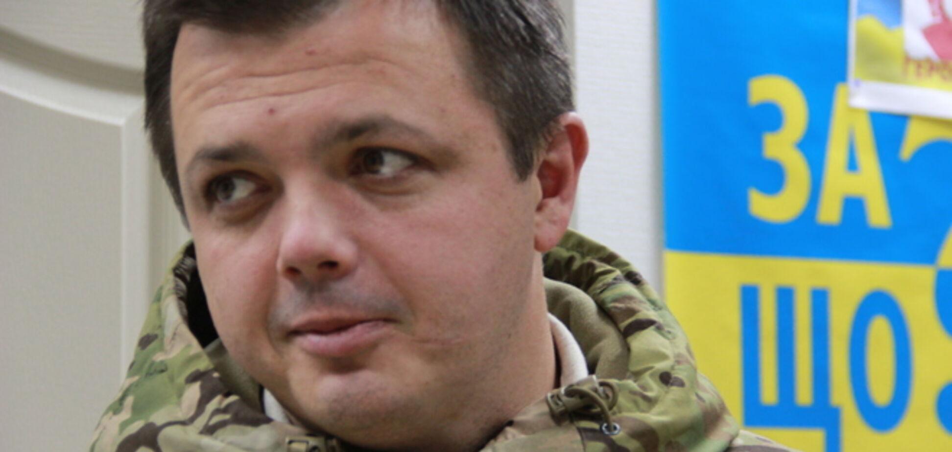 Семенченко прокомментировал свое присутствие в захваченной сепаратистами ДонОГА