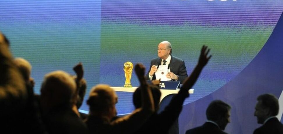 ФИФА не видит необходимость отбирать у России чемпионат мира-2018