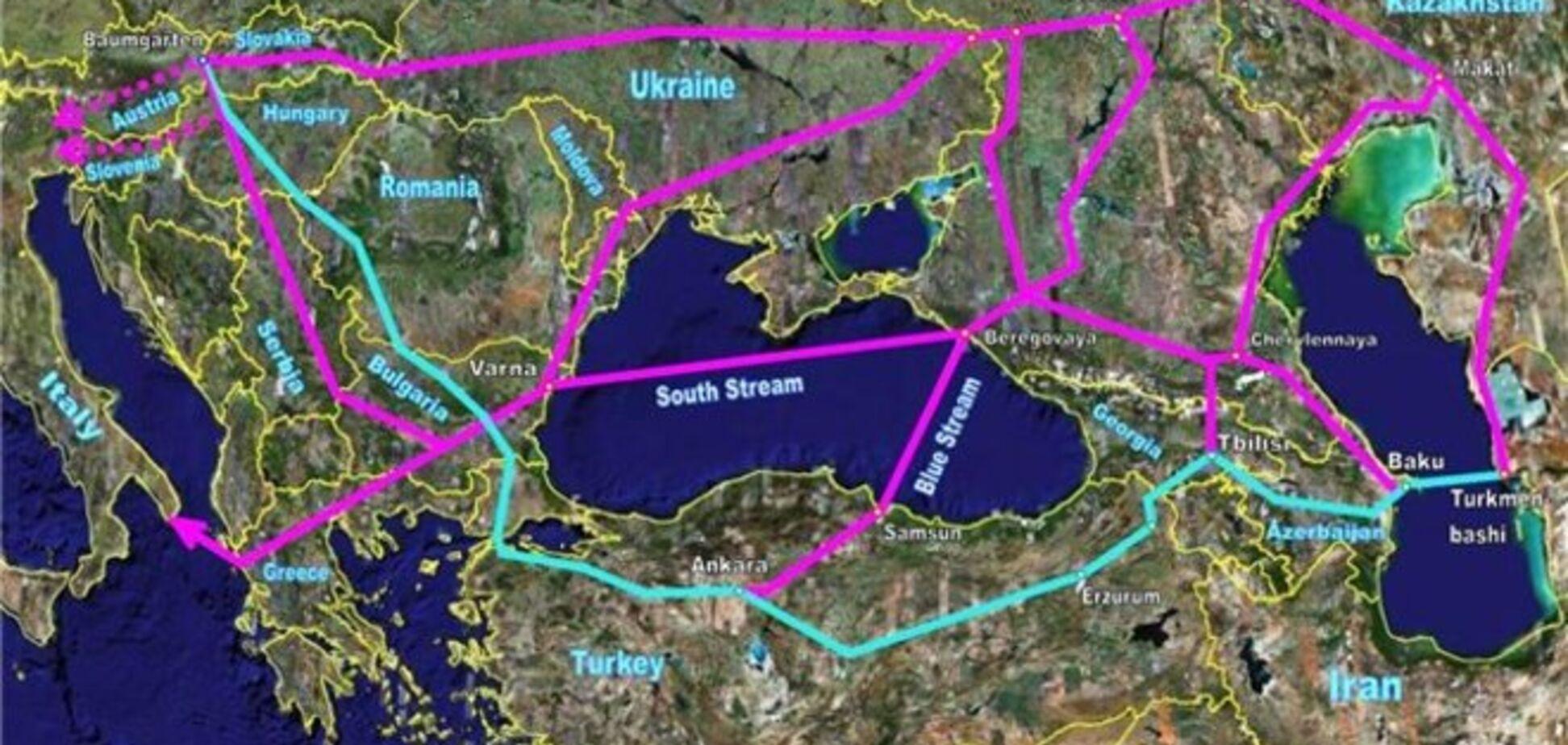 Эксперты объяснили, почему Путин отказался от 'Южного потока'