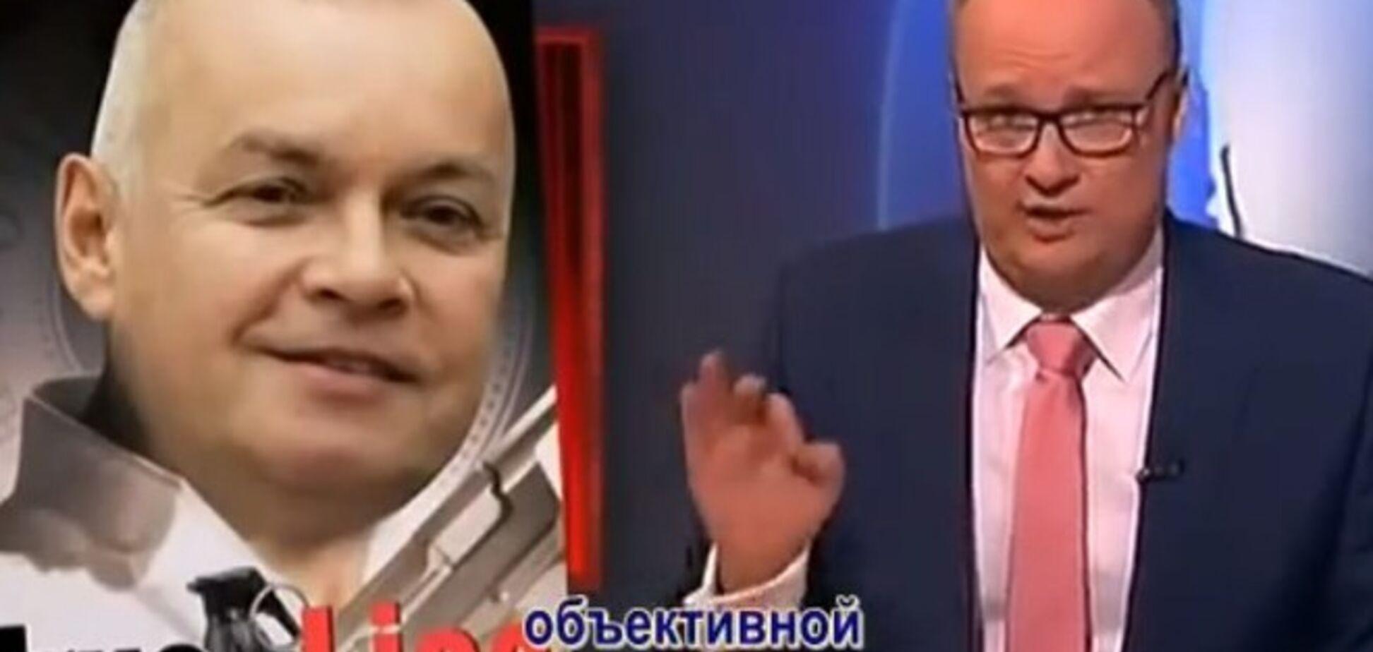 Немецкий телеканал высмеял кремлевскую пропаганду за ее 'объективность' и Киселева: опубликовано видео