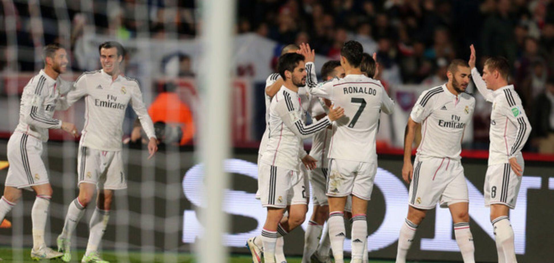 'Реал' разобрался с 'Циклопами' и стал чемпионом мира