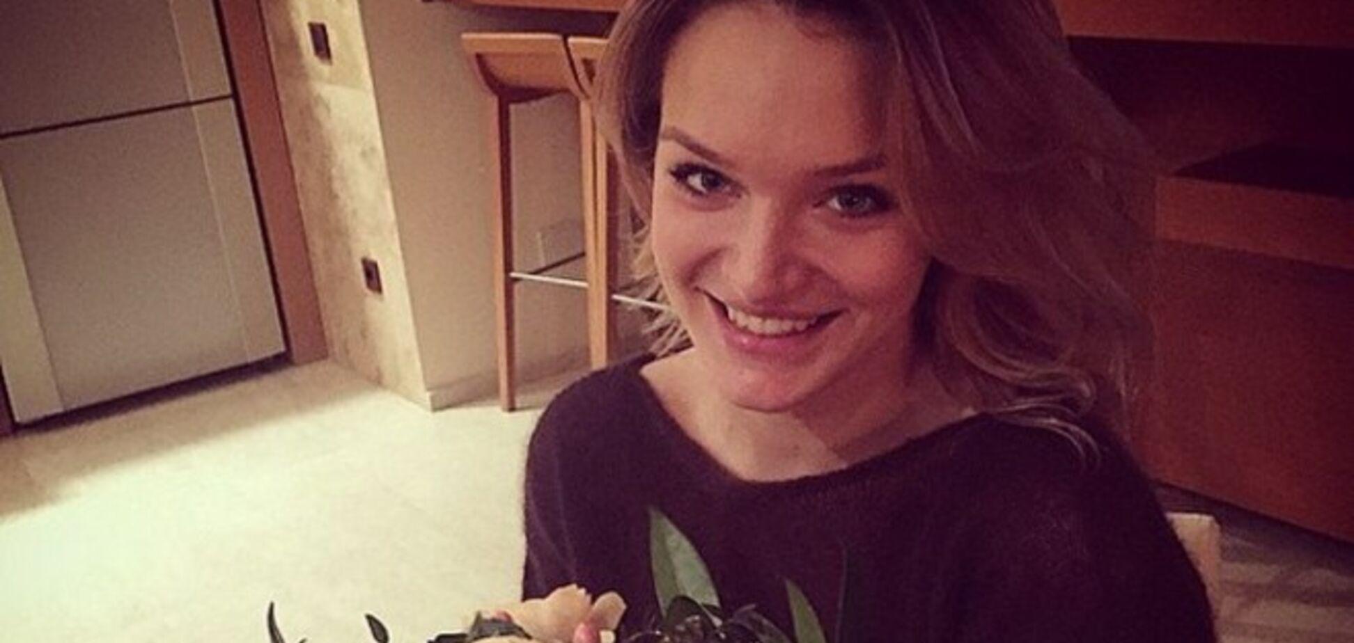 Дочь Добкина похвасталась в сети букетом от своего возлюбленного