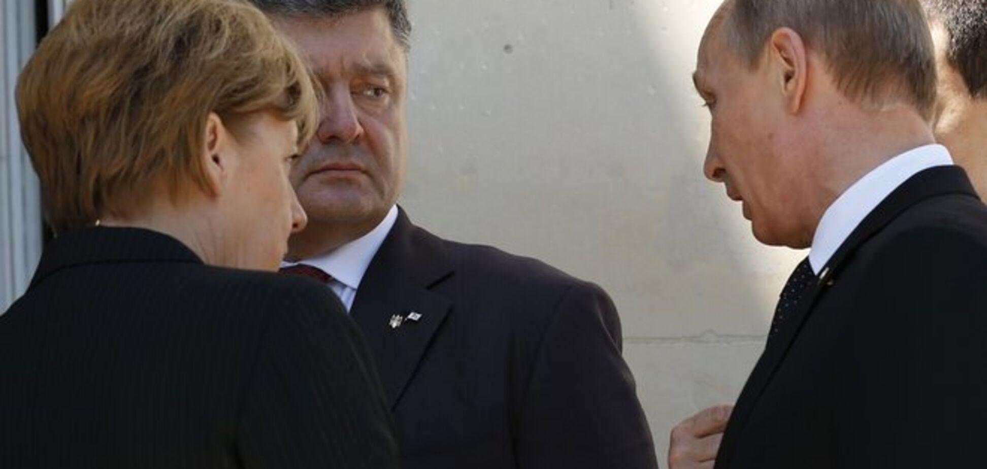 Порошенко анонсировал телефонную конференцию по ситуации на Донбассе в нормандском формате
