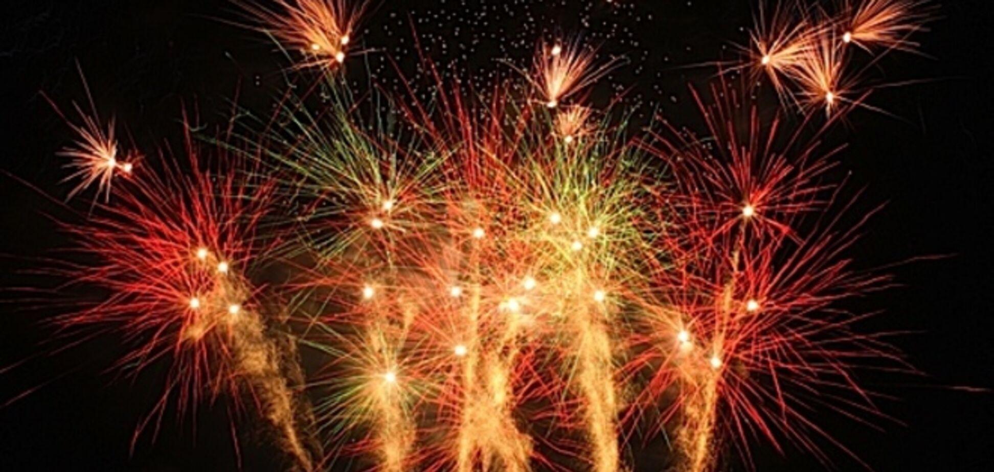 В Днепропетровске будут штрафовать за салюты во время новогодних праздников