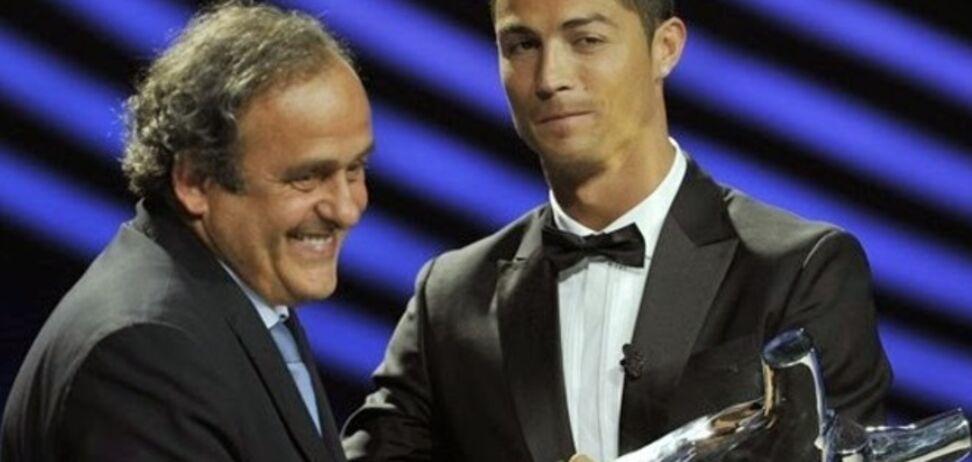 В УЕФА невнятно объяснили, почему Роналду не пожал руку Платини