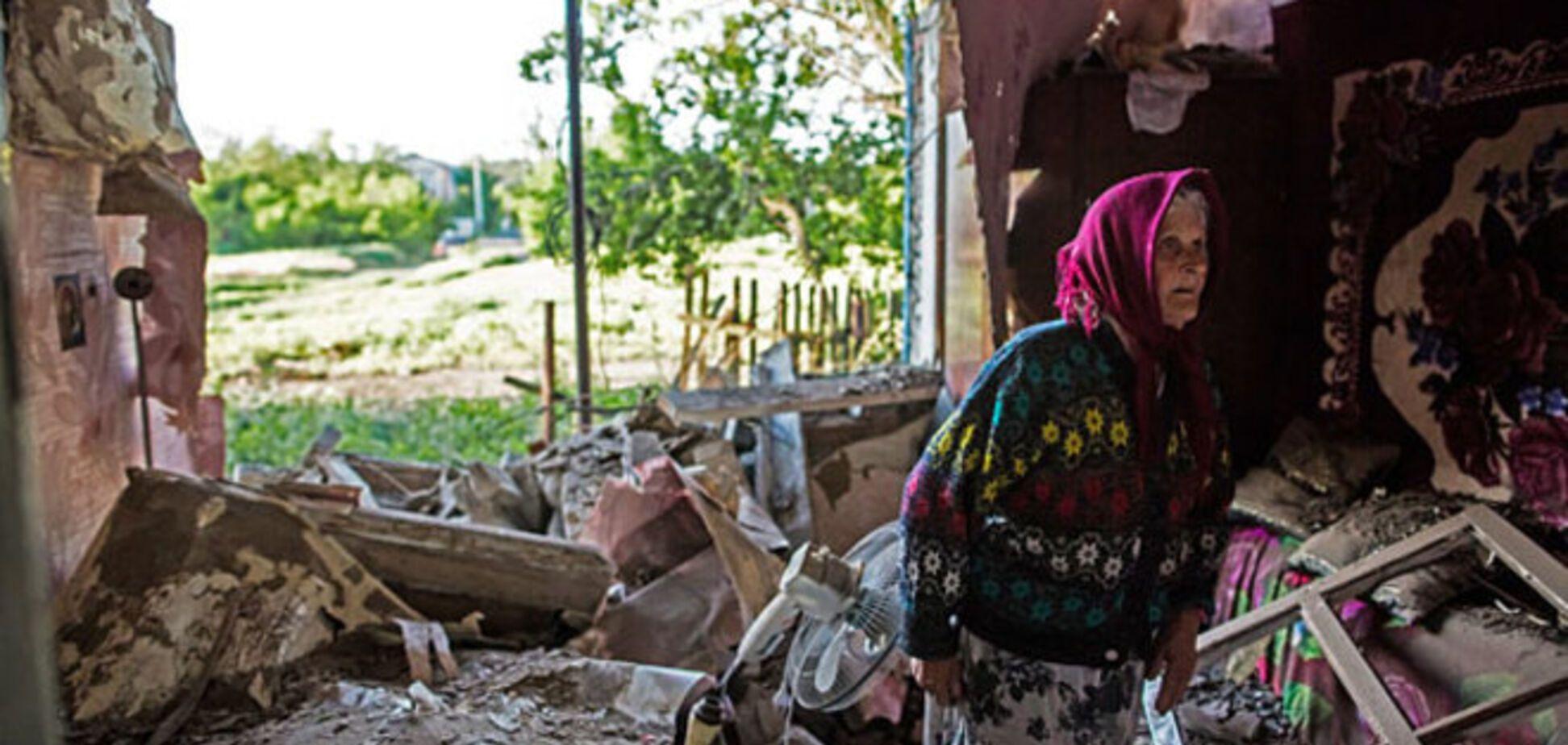Переселенцям можуть дати компенсацію за зруйновані будинки і втрачене майно